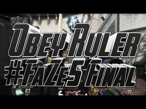 #FaZe5 - Recruitment Challenge Response - Obey Ruler