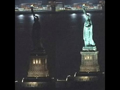 Some people suspected Lady Liberty went dark for #InternationalWomensDay