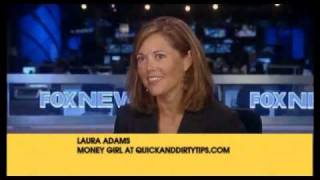 Laura Adams - Money Girl - on Fox News