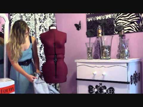 My New Dress Form (Birthday gift) - YouTube