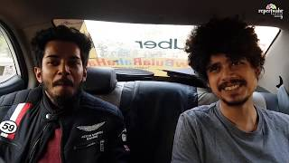Repertwahr Star in the car with Madboy Imad Shah | Repertwahr Festival