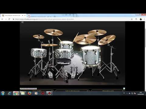 Cover Virtual Drum Dewa 19 Cinta Gila