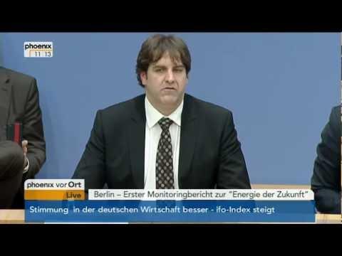 """Erster Monitoringbericht zur """"Energie der Zukunft"""" - 19.12.2012"""