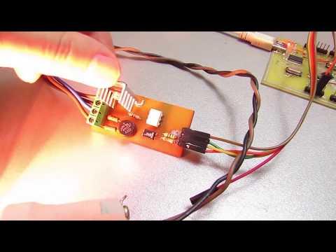 Сетевой диммер управляемый Arduino