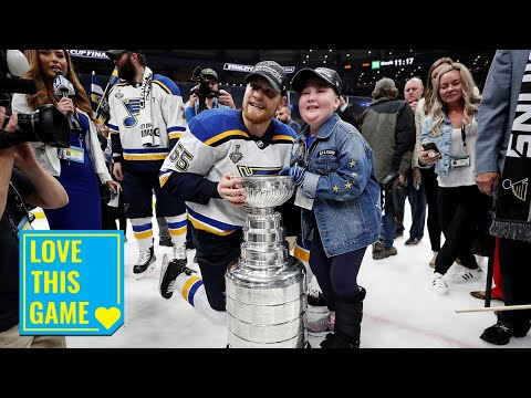 Laila Anderson never doubted the St. Louis Blues!