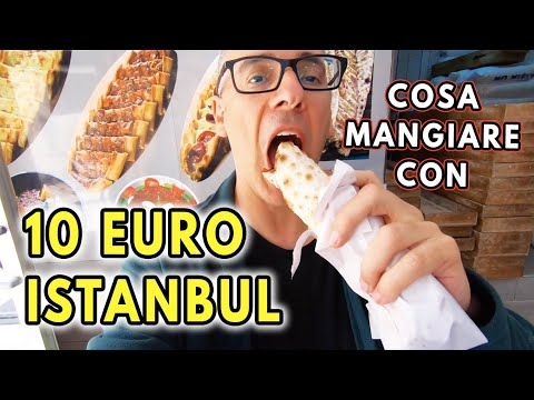 10 EURO CHALLENGE A ISTANBUL: COSA MANGIARE IN TURCHIA CON 10 EURO