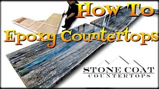 How To Epoxy Countertops DIY