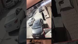 عصابة حريم مع رجال يسرقون وقت الصبح هذه الحادثه في شرق الرياض وتم القبض عليهم