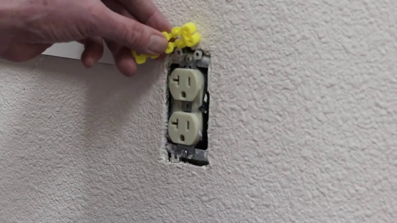 How to Repair Loose or Sunken Outlets