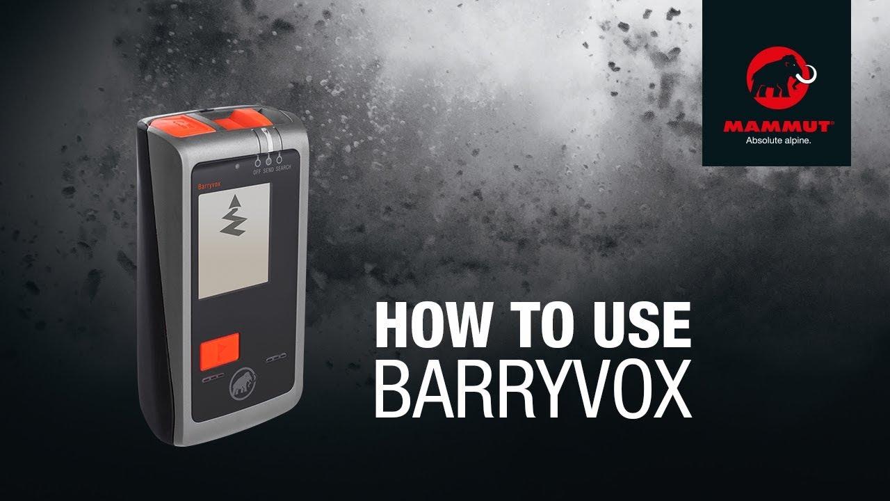 Mammut Barryvox LVS-Gerät