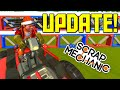 Scrap Mechanic Gameplay and Creations - Game Update: Steam Workshop and Saved Creations!