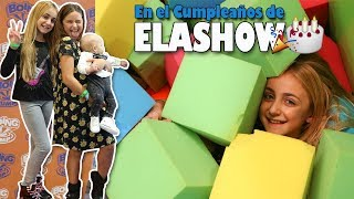 FIESTA DE CUMPLEAÑOS DE ELASHOW con The Crazy Haacks y DivertiGuay - Silvia Sánchez