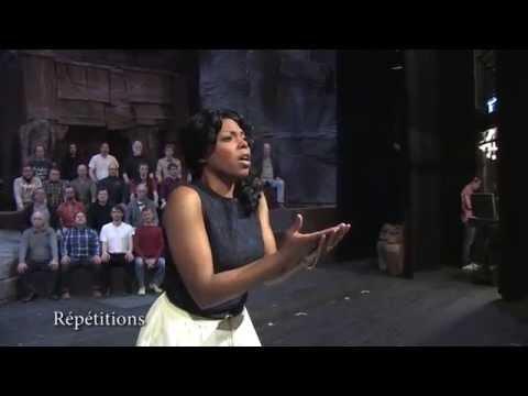 Aida (Giuseppe Verdi) - Répétitions et interview de Kristin Lewis
