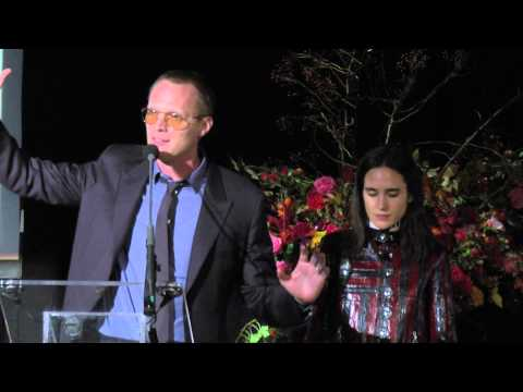 Paul Bettany and Jennifer Connelly at ARTWALK NY