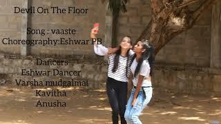 Vaaste - Bhavani bhanushali Dance cover| Dance choreography