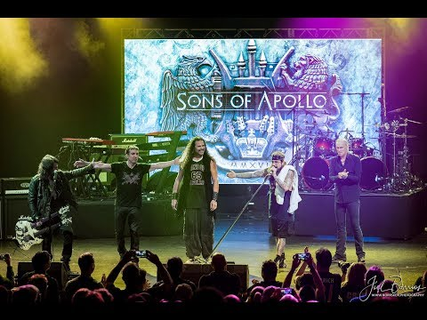 Sons of Apollo @ The Pacifica Theater (First ever live performance during Cruise to the Edge 2018)