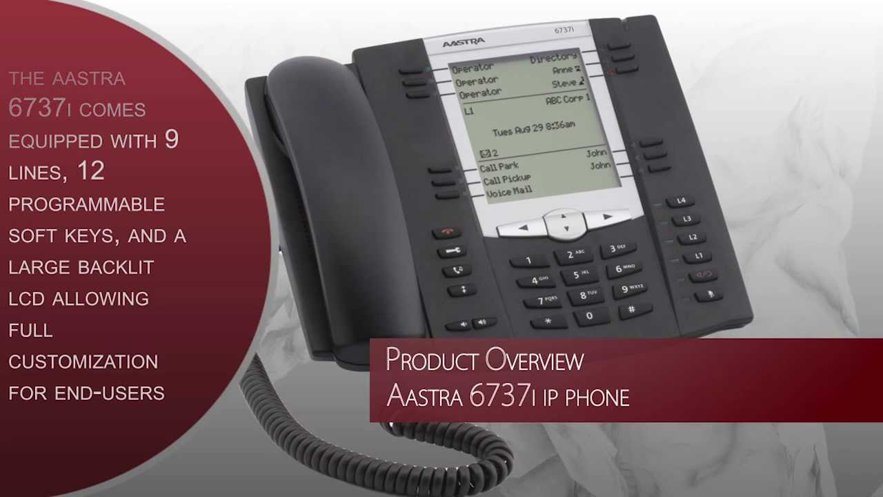 AASTRA 6737I SIP PHONE DRIVER PC