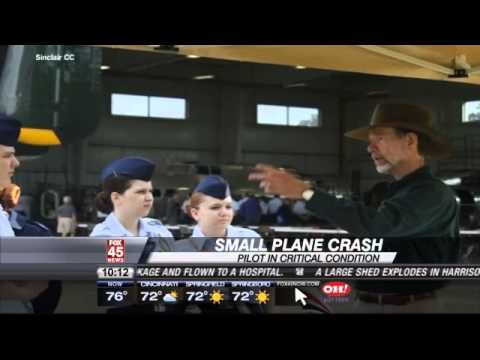 Pilot in Critical Condition, Plane Crashed with Empty Gas Ta