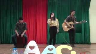 HaUI | Club AAC - The first birthday: Em về tóc xanh - Clb guitar CN