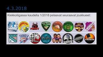 Kiekkoliiga Finals 2018