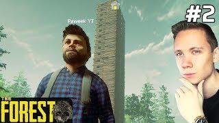 The Forest PL Gameplay Kreatywny [#2] 19 PIĘTER? Chcemy WIĘCEJ? /z Paweł