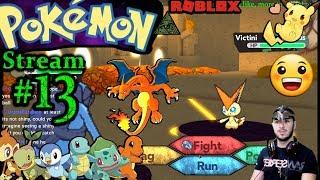 POKEMON en ROBLOX Ch.#12, - Por qué saljo Buzzfeed- 1a vez jugando PC (Max Graphics) #13th Stream