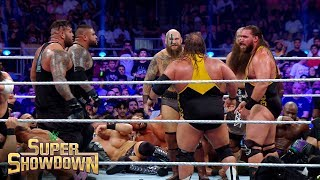 Viking Raiders, Heavy Machinery & AOP scrap in Battle Royal: Super ShowDown 2019