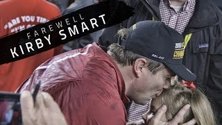 Watch Kirby Smart celebrate his final win at Alabama before leaving for Georgia