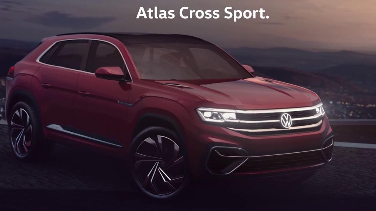 volkswagen atlas cross sport youtube