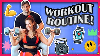 My Workout Routine | Evridiki Valavani