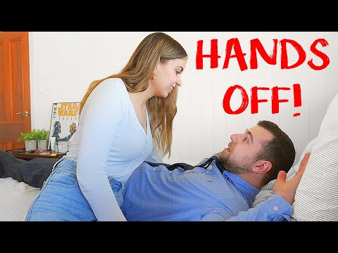 You Can Look BUT You Can't Touch Prank on Girlfriend!