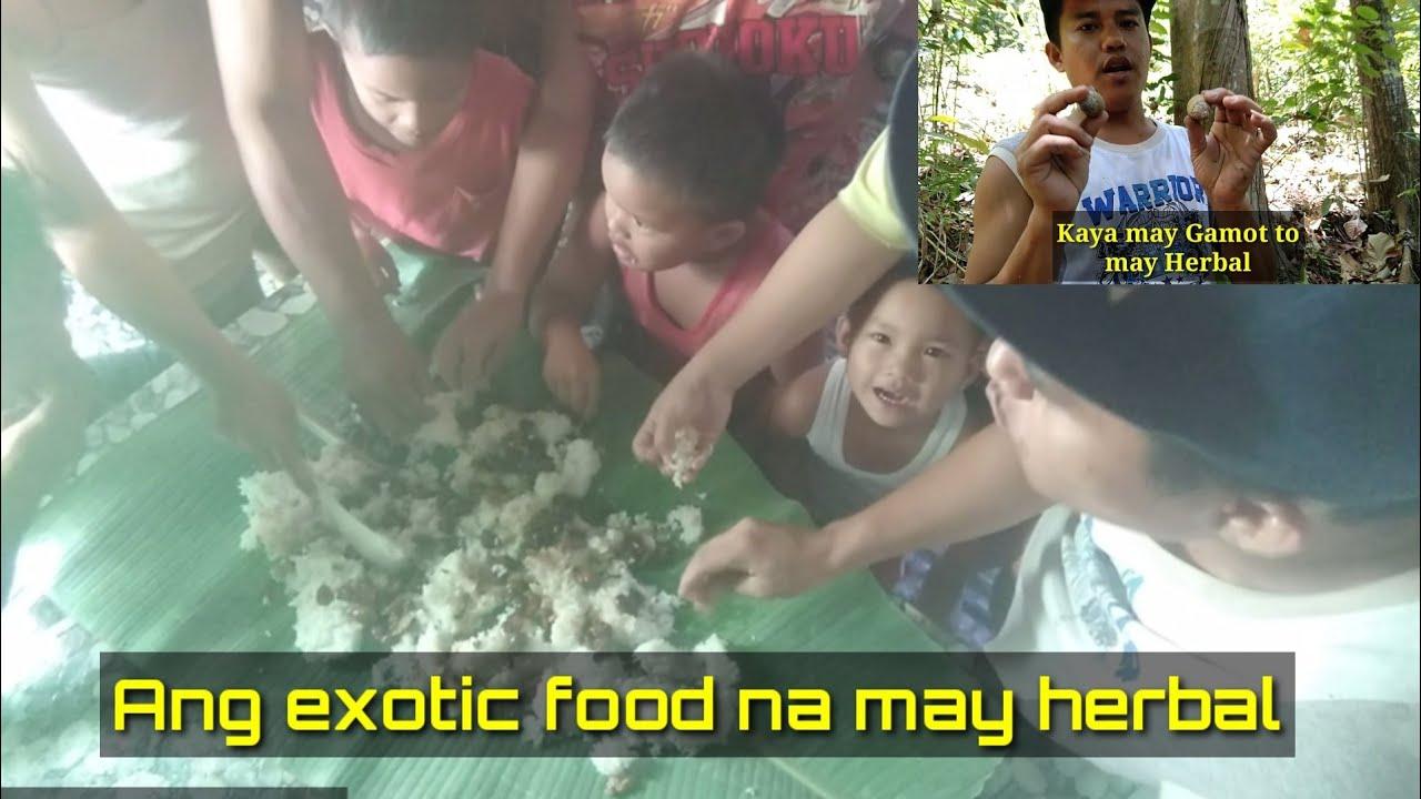Ang buhay sa bukid/during lockdown/Finding exotic food with herbal medicine.(Bisaya language) #Herbalmedicine