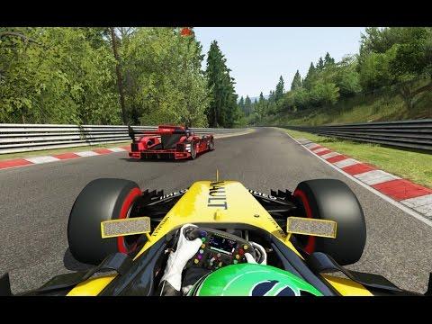 Battle Onboard F1 Renault