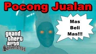 Misteri POCONG Penjual Makanan - GTA San Andreas Dyom!