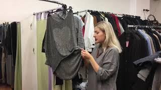 Секонд хенд: обзор поступления, ВЕСОВАЯ женская одежда. 05.11.18
