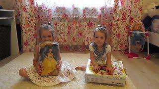 Распаковка куклы Бэль и набор для гриля  Unpacking dolls and Belle and set to grill