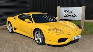 For sale - 1999 Ferrari 360 Modena F1 - Nick Whale Sports Cars