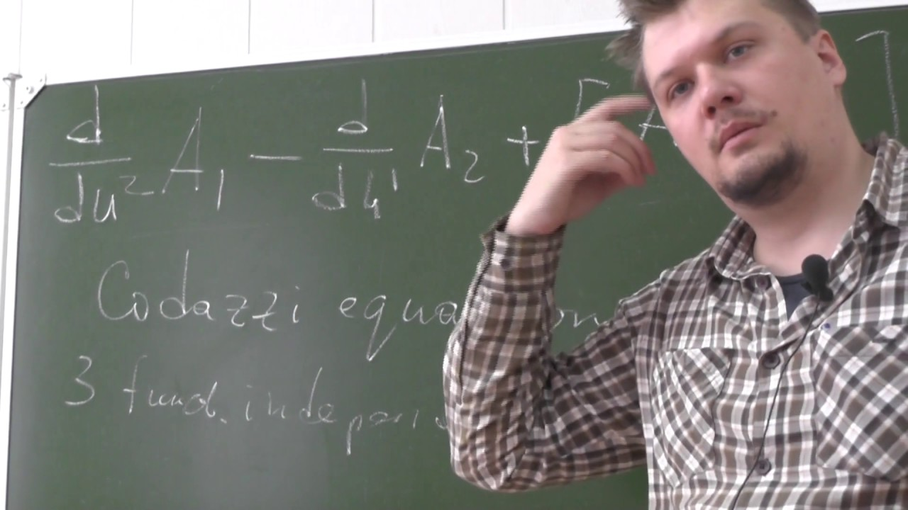 Riemannian geometry, PhD Evgeny Malkovich, Lecture 05