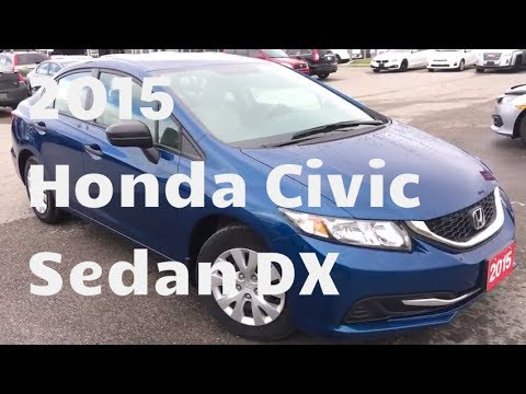 2015 Honda Civic Sedan DX | WHITBY OSHAWA HONDA | Stock #: U4805