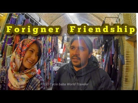 How To Make Friends in Foreign Countries || Iran Vlog  6 || Cycle Baba