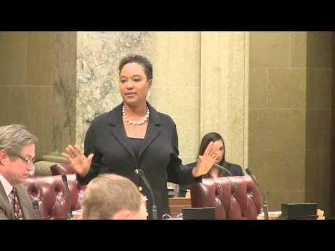 Senator Taylor on the strip search bill