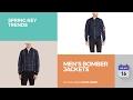 Men's Bomber Jackets Spring Key Trends