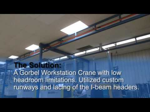 Gorbel Workstation Cranes at Ames Industries