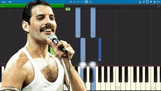 Queen - You're My Best Friend Electric Piano Parts ONLY - Tutorial