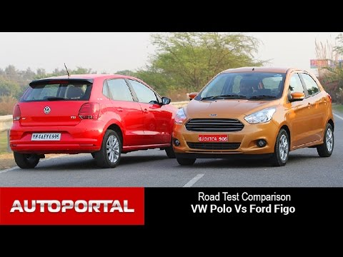 Volkswagen Polo Vs Ford Figo Comparison Review- Auto Portal