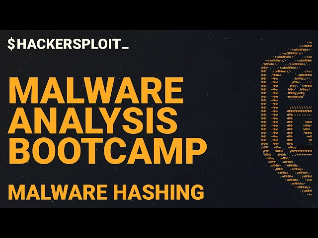 Malware Analysis Bootcamp - Generating Malware Hashes