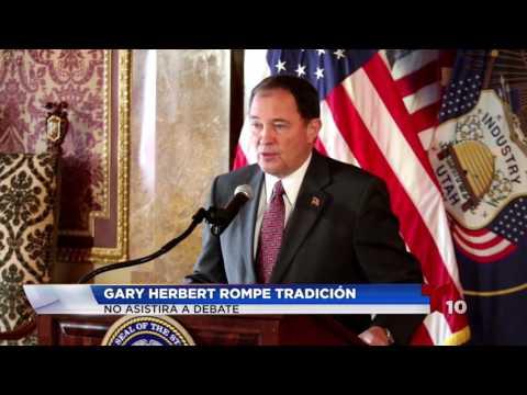 Gary Herbert Rompe Tradición