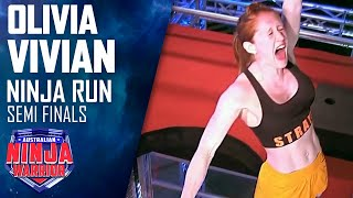 Olivia Vivian makes history with incredible Semi Final run | Australian Ninja Warrior 2019