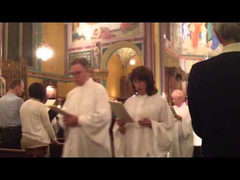 Easter Vigil 2014 at the Cathedral of the Madeleine, SLC