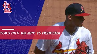 Hicks' High Heat: RHP throws 5 fastest pitches of '18